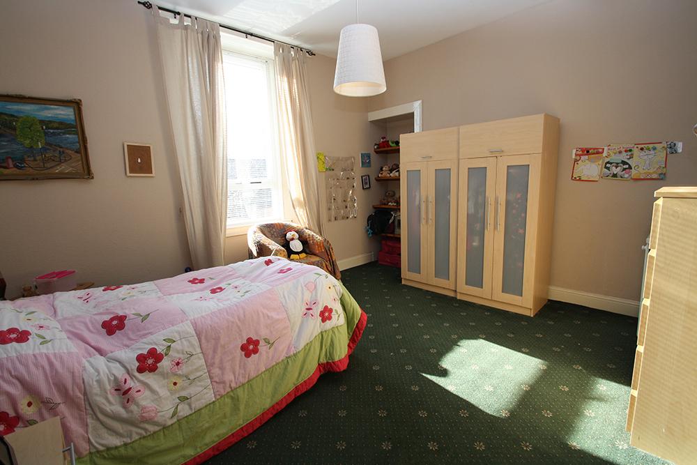 Bedroom at Ballater Street residence