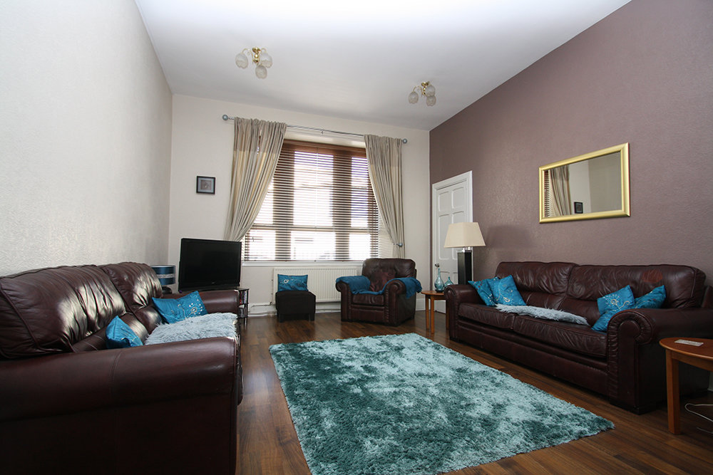 Living room at Ballater Street residence.