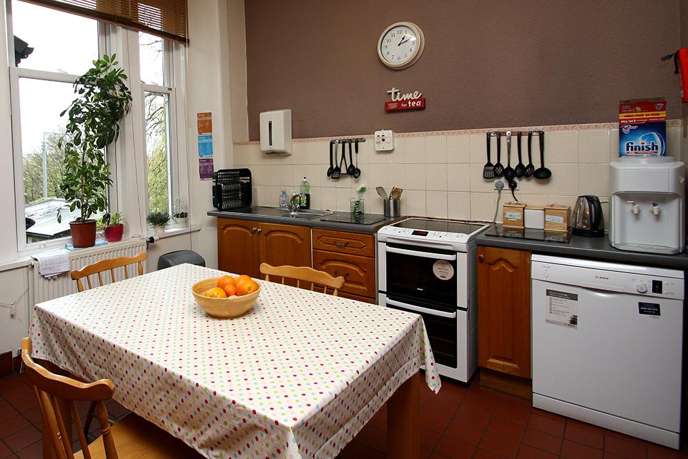 Tollcross kitchen.