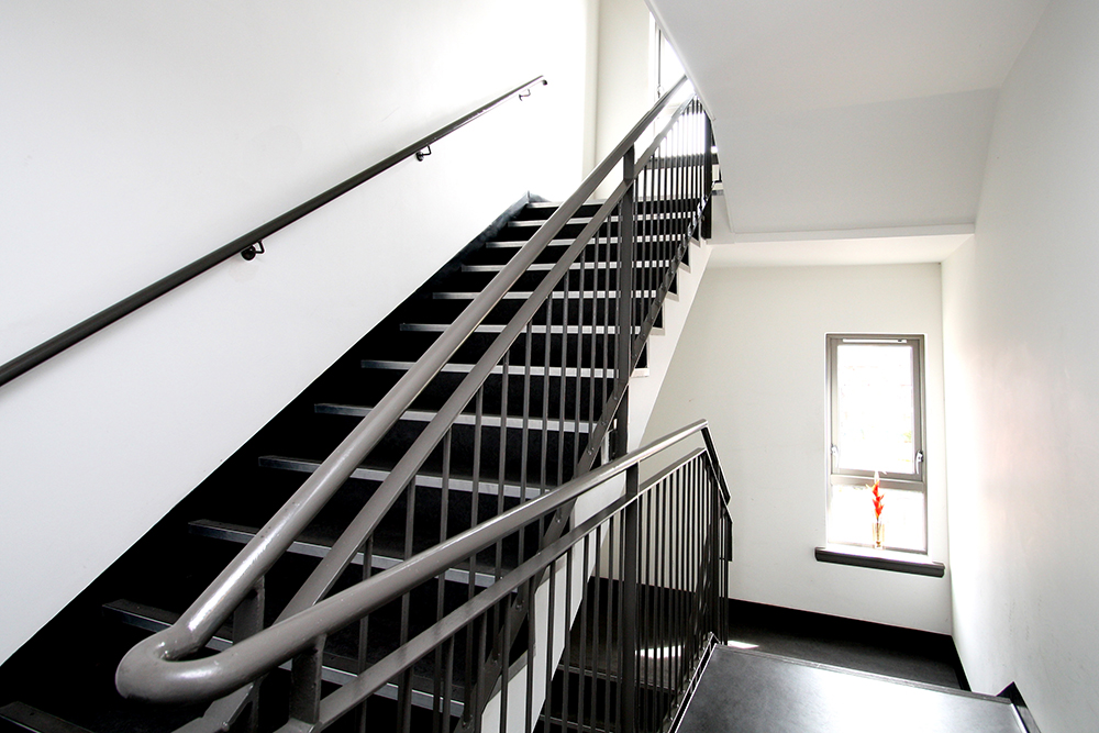 Fielden St stairwell.